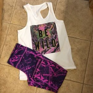 Old Navy Active Girls Outfit
